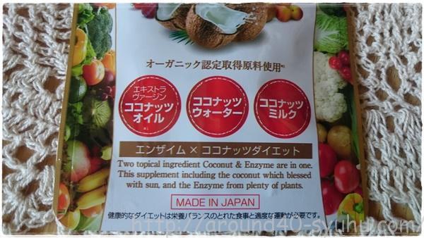 Rich Diet 生酵素×ココナッツダイエット5