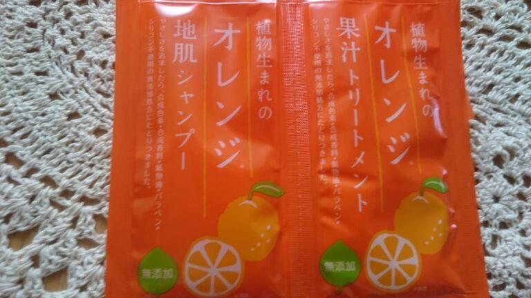 石澤研究所の植物生まれのオレンジ地肌シャンプーとトリートメント